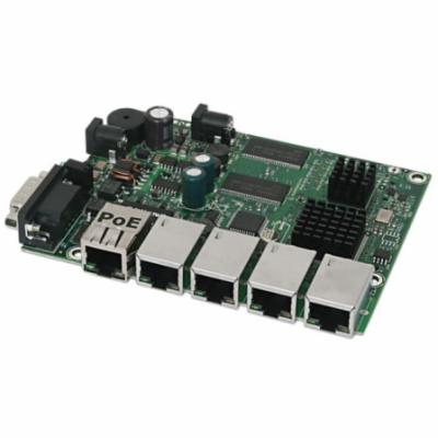 Mikrotik RB450Gx4 716 MHz, 1 GB RAM, Router OS L5