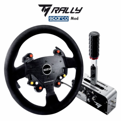 Thrustmaster volant TM Rally Add-On Sparco R383