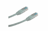 DATACOM Patch cord UTP CAT5E 1,5m šedý