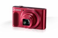 Canon PowerShot SX620HS, Red - 20MP, 25x zoom + pouzdro C...