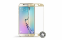 Screenshield™ SAMSUNG G925 Galaxy S6 Edge Tempered Glass protection (Gold)