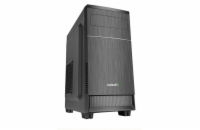 EVOLVEO M1, case mATX, 2x USB2.0 / 1x USB3.0 / 2x 120mm LED / 1x 140mm/ černý