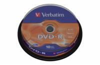 DVD-R 4,7GB 16x 10SP VERBATIM