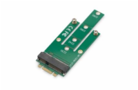 Digitus NGFF (M.2) to mSATA PCIe Card