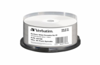 Verbatim Blu-ray BD-R [ Spindle 25 | 25GB | 6x | WIDE PRINT NO ID ]