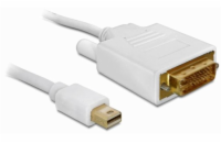 Delock kabel mini Displayport -> DVI 24pin samec 1m pozlacený