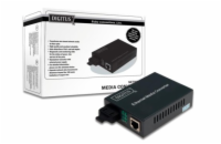 DIGITUS Media Converter, Singlemode 10/100Base-TX to 100B...
