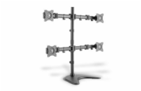 DIGITUS DA-90364 Universal Monitor Stand, 4xLCD, 27, max. load 8kg, adjustable and rotated 360