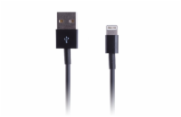 CONNECT IT Wirez Apple Lightning - USB, černý, 1m
