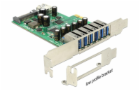 Delock PCI Express Card > 6 x external + 1 x internal USB...