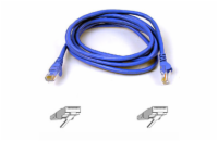 Belkin kabel PATCH UTP CAT6 50cm modrý, bulk Snagless