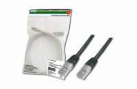 Digitus Patch Cable, UTP, CAT 5e, AWG 26/7, měď, černý 3m