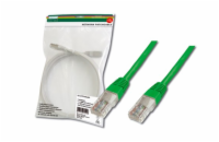 Digitus Patch Cable, UTP, CAT 5e, AWG 26/7, měď, zelený, ...