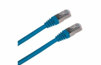 Patch cord FTP cat5e 1M modrý