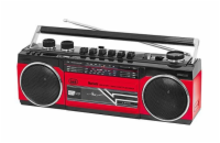 RR 501BT/RD Radiomagnetofon,USB/SD/MP3