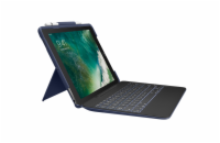 Logitech® SLIM COMBO with detachable keyboard and Smart Connector for iPad Pro 12.9 inch - CLASSIC BLUE - UK - INTNL