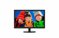 Philips LCD 223V5LSB 21,5''LED, 5ms, DC10mil, VGA, DVI, 1920x1080, č