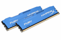 KINGSTON 16GB 1600MHz DDR3 CL10 DIMM (Kit of 2) HyperX FURY Blue Series