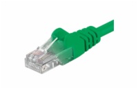 PremiumCord Patch kabel UTP RJ45-RJ45 CAT6 3m zelená