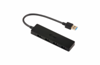 i-tec USB 3.0 SLIM HUB 4 Port passive - Black