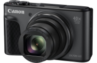 Canon PowerShot SX730HS, Black + 8GB karta