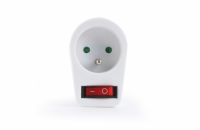 Energenie Switchable plug-in French AC socket, white