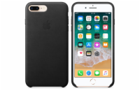 iPhone 8 Plus / 7 Plus Leather Case - Black