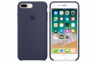 iPhone 8 Plus / 7 Plus Silicone Case - Midnight Bl