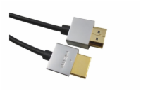 PremiumCord Slim HDMI High Speed + Ethernet kabel, zlace...