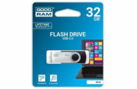32 GB .    USB kľúč . GOODDRIVE Twister Čierna
