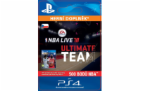 ESD CZ PS4 - EA SPORTS™ NBA LIVE 18 ULTIMATE TEAM™ - 500 NBA POINTS