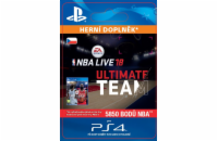 ESD CZ PS4 - EA SPORTS™ NBA LIVE 18 ULTIMATE TEAM™ - 5850 NBA POINTS