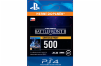 ESD CZ PS4 - STAR WARS™ Battlefront™ II: 500 Crystals  (Av. 14.11.2017)