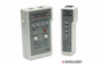 Intellinet Cable Tester, Multifunction RJ45/RJ11