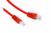 Gembird UTP Cat6 Patch cord, 5 m, červená