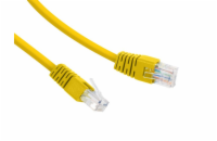 Gembird UTP Cat6 Patch cord, 5 m, žlutá