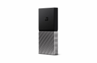 WD My Passport SSD 256GB Ext. USB3.1 Type C , Silver/Black