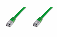 Digitus Patch Cable,S-FTP, CAT 6, AWG 27/7, LSOH, Měď, ze...