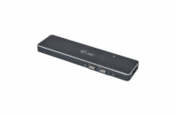 i-tec USB-C 3.1 Metal Docking Station for Apple MacBook Pro + Power Delivery