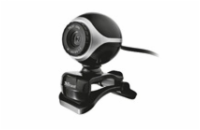 TRUST Exis Webcam webkamera - Black/Silver