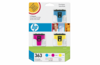 HP CB333EE Ink Cart No.363, cyan 4ml, magenta 3,5ml, yellow 6ml