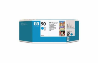 HP 90 Cyan DJ Ink Cart, 400 ml, C5061A