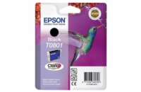 EPSON cartridge T0801 black (kolibřík)