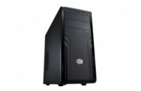 CoolerMaster case miditower Force 500, ATX, black, USB3.0, bez zdroje