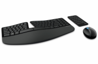 Microsoft Sculpt Ergonomic Desktop Wireless, CZ&SK