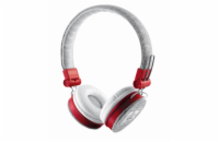 Trust Fyber Headphones náhlavní sada Urban -  gray/red
