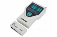 Intellinet Cable Tester, 5-in-1, RJ45, RJ11, USB, Firewire, BNC