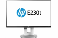 HP EliteDisplay E230t / 23'' touch IPS/ 1920x1080/250cd/1000:1/5,7ms/VGA,DP,HDMI/3/3/0