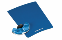 Fellowes - CRYSTAL - mouse and wrist pad Health-V, PALM, blue