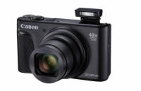 Canon PowerShot SX740HS, Black - 20MP, 40x zoom, 24-960mm, 4K